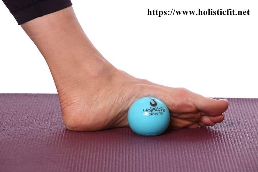Ball message บริหารฝ่าเท้า ปัญหาเท้าแบนแบน