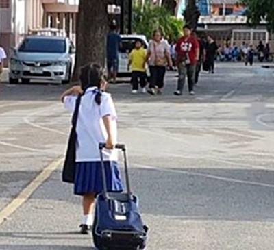 กระเป๋านักเรียน ที่เหมาะสม