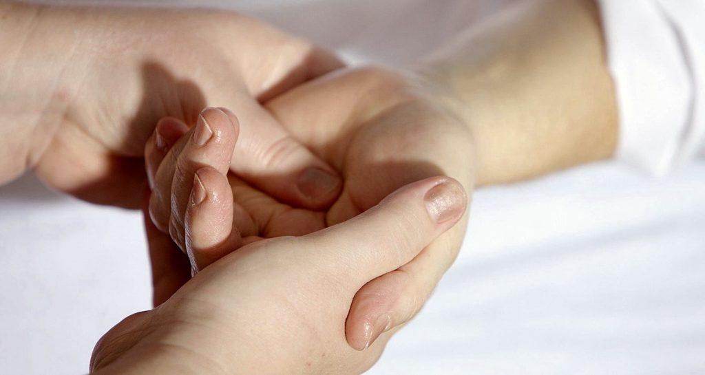 เดอกาแวง ปวดข้อมือ โรคปลอกหุ้มเอ็นนิ้ว อักเสบ